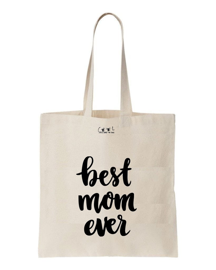 tote bag best mom ever
