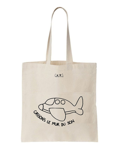 tote bag cassons le mur du son