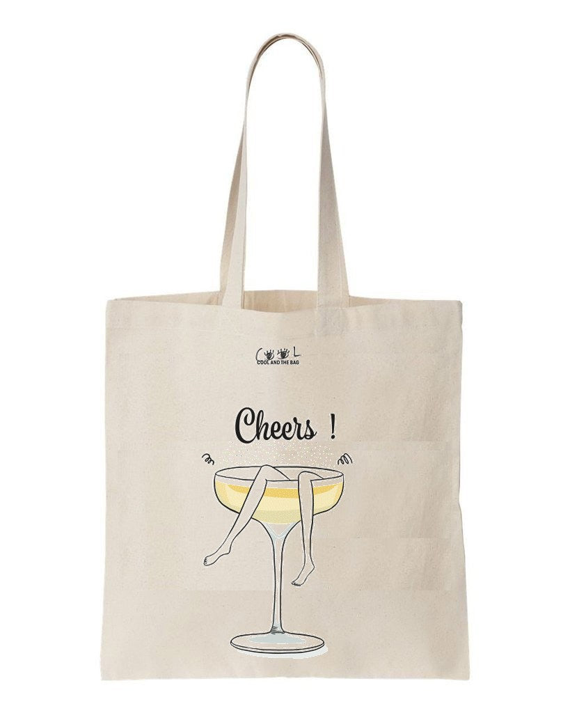 tote bag cheers