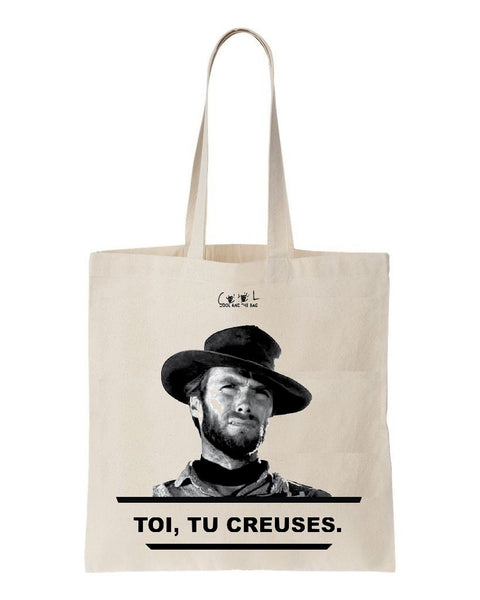 tote bag clint eastwood