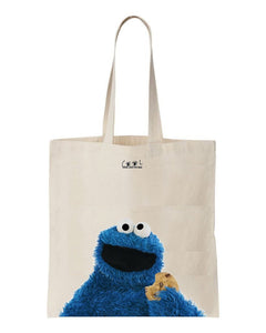 tote bag Cookie Monster