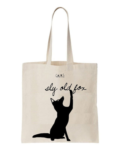 Tote bag Foxy Lady