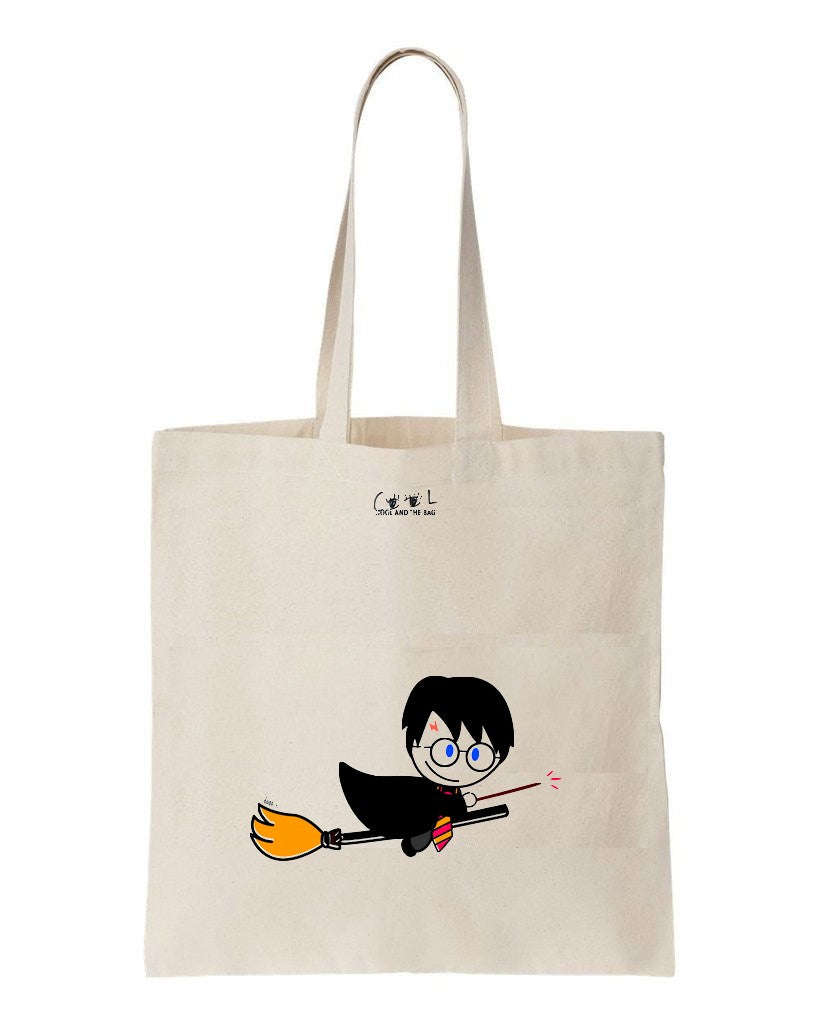 sac en toile harry potter
