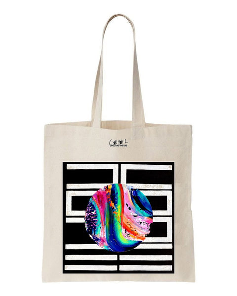 tote bag graphique hope