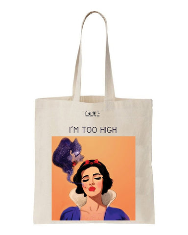 tote bag blanche neige