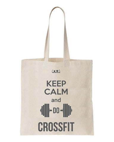 tote bag Keep Calm and do Crossfit
