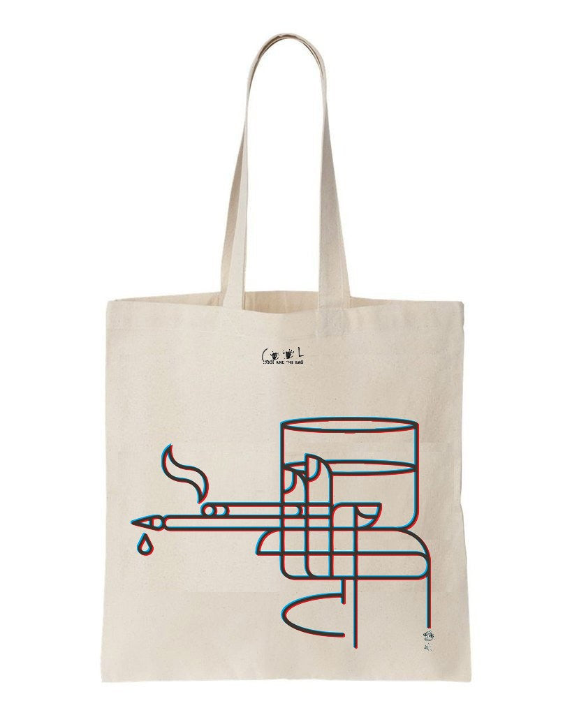 tote bag La main