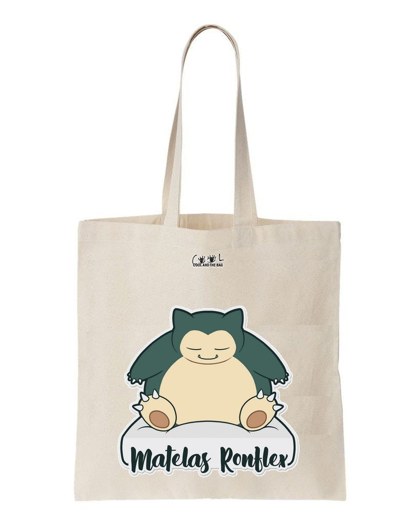 tote bag Pokemon Ronflex