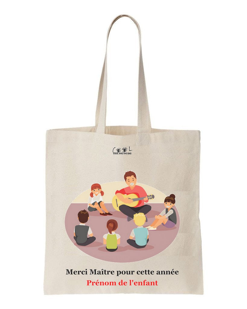 tote bag merci maitre
