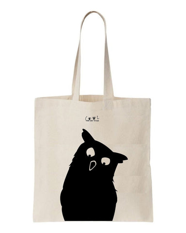 Tote bag Nifty Owl