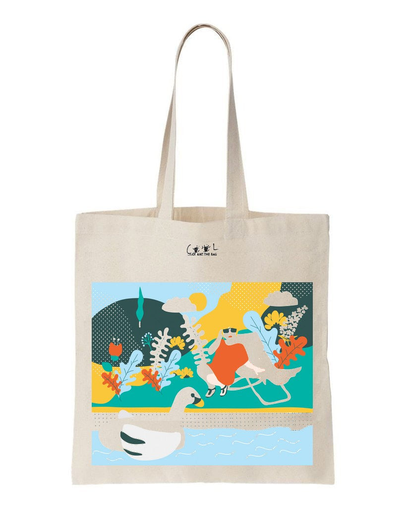 tote bag on dirait le sud