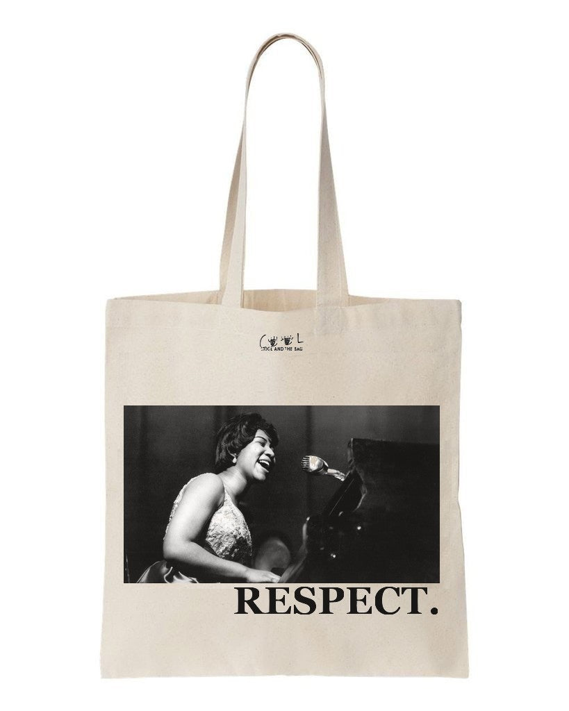 tote bag Aretha Franklin