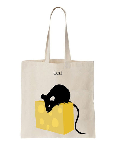 Tote bag Say Cheese