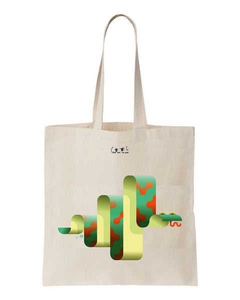 tote bag Serpentin