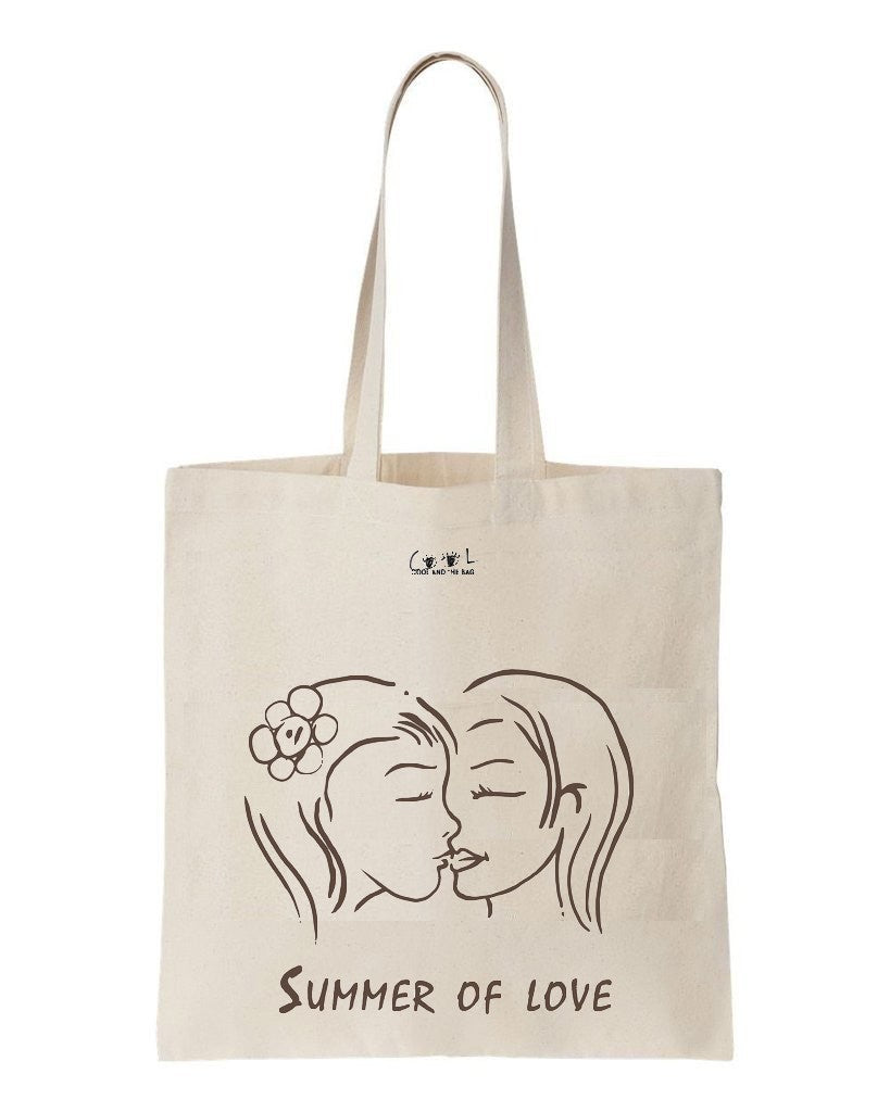 tote bag Summer of Love filles