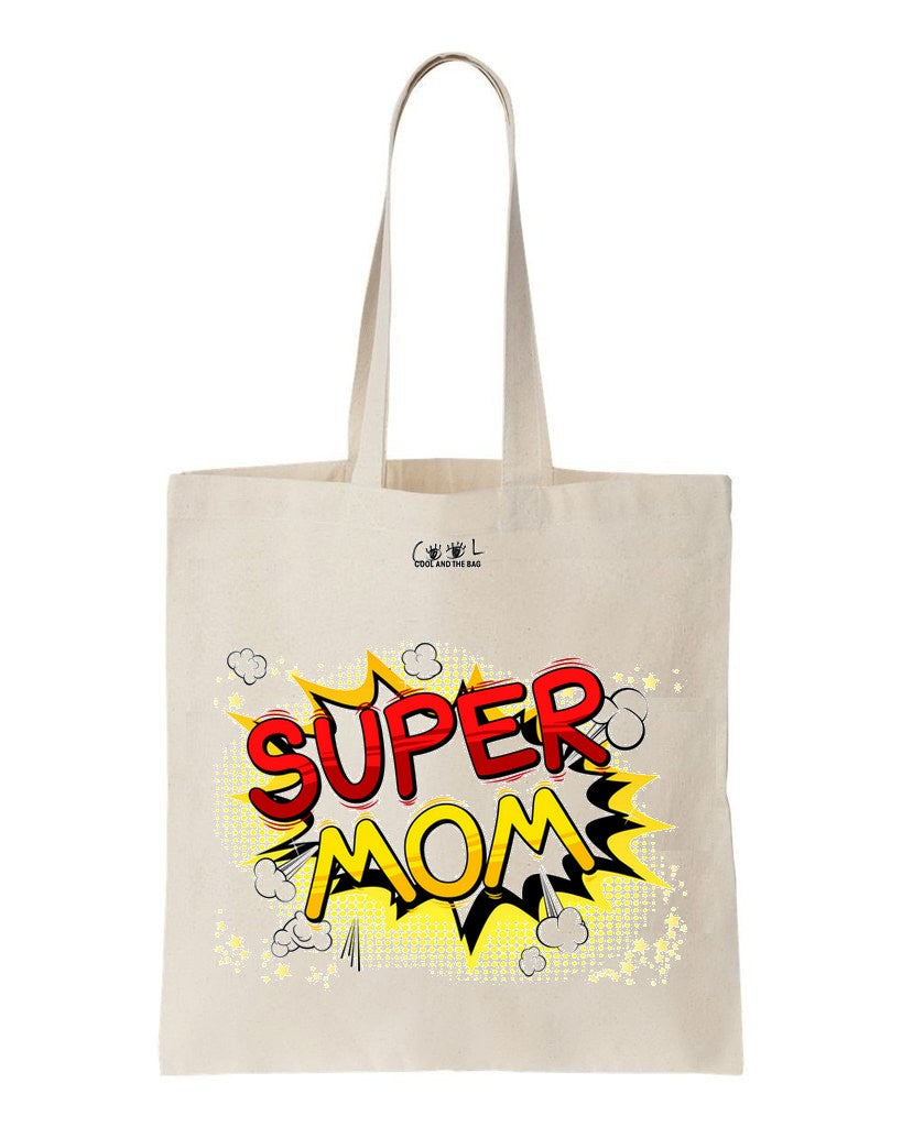 tote bag Super Mom