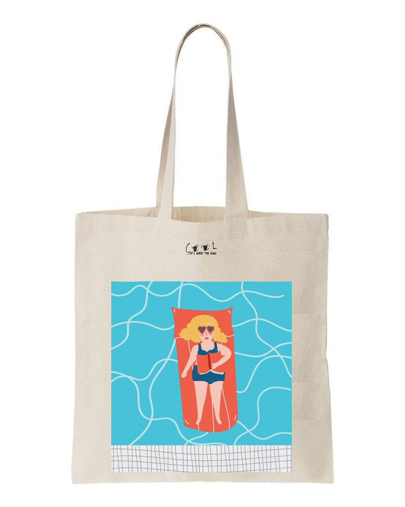 sac en toile Swimming Pool