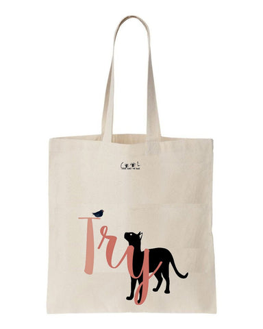 tote bag Try
