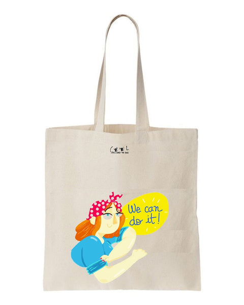 tote bag We can do it
