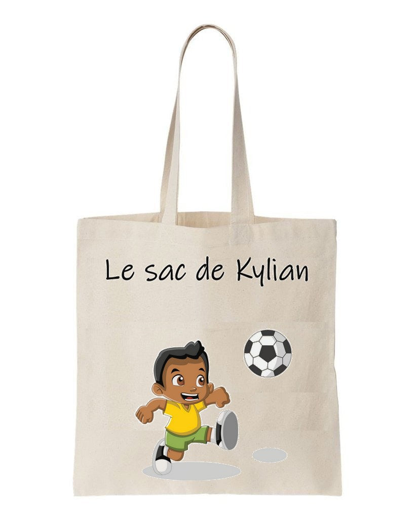 tote bag enfant Football