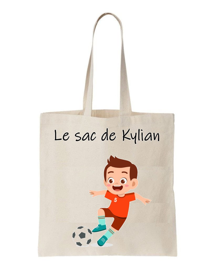 tote bag football