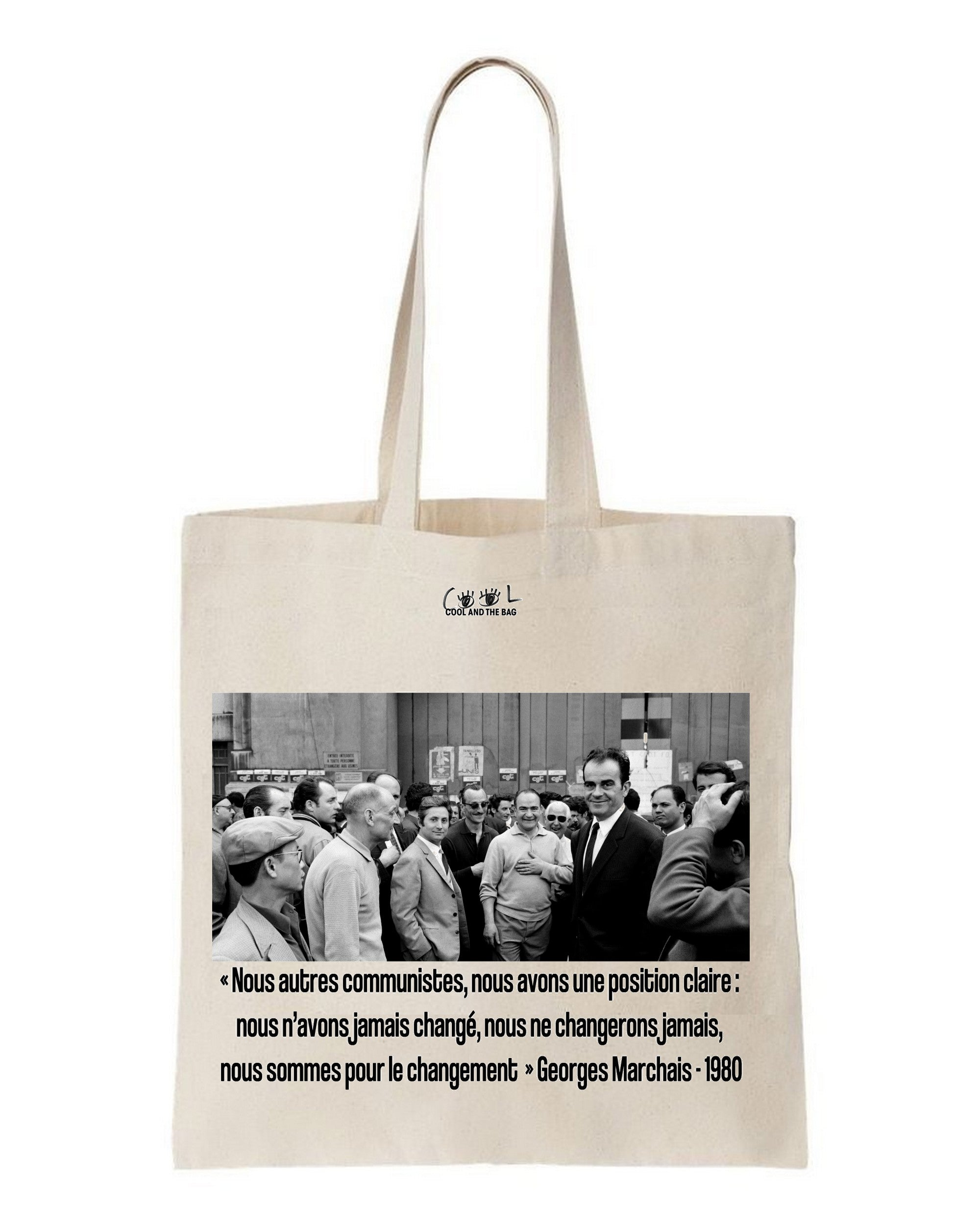 tote bag georges marchais