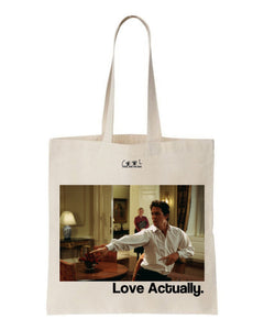 tote bag love actually