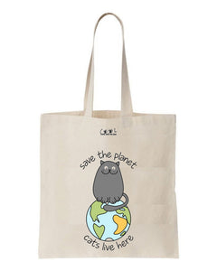 tote bag cats