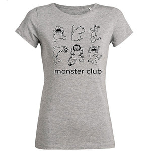 tee shirt femme original Monster Club