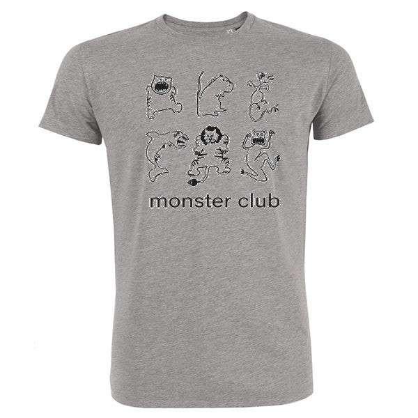 t shirt homme monster club