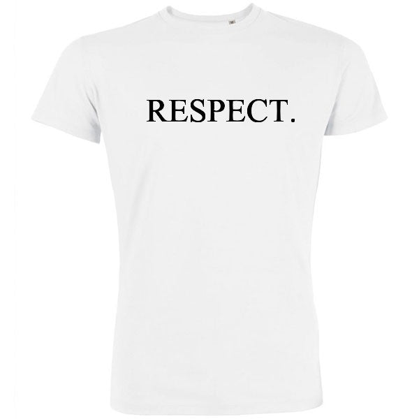 tshirt homme respect