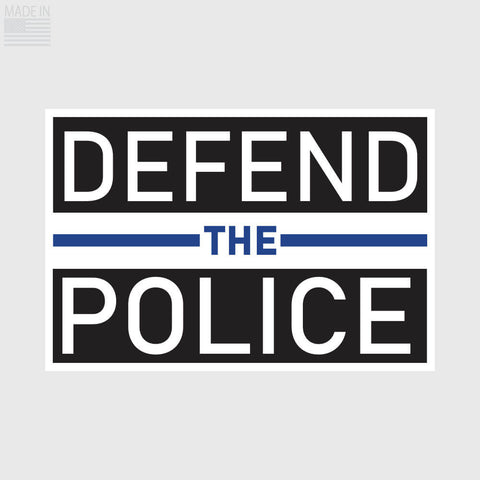 Defend the Police Sticker