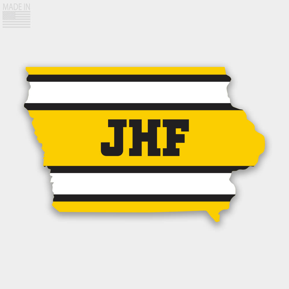 Iowa JHF Tribute Sticker