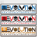 Revolution Mfg Bumper Sticker