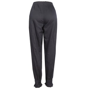 GREY COTTON TROUSER