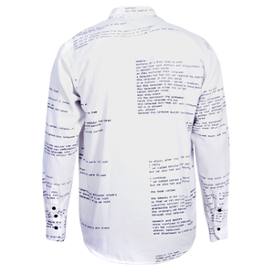 SILKSCREEN LONG SLEEVE SHIRT