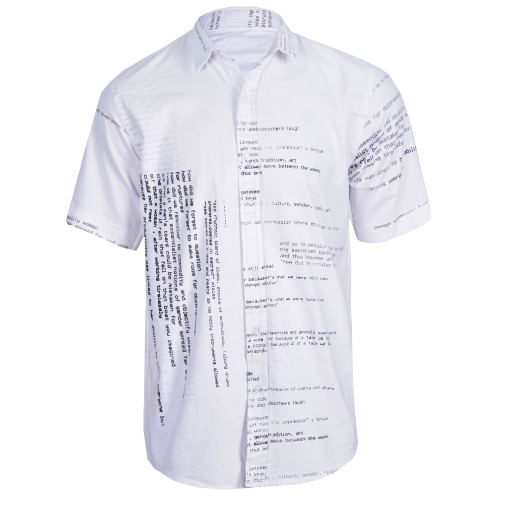 SILKSCREEN SHORT SLEEVE SHIRT