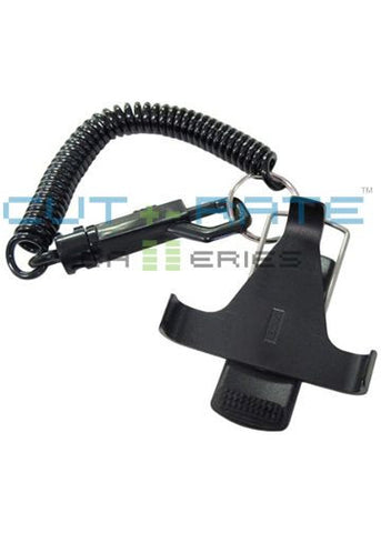 Mitel BPX100 Hinge Clip Assembly with Coil Lanyard