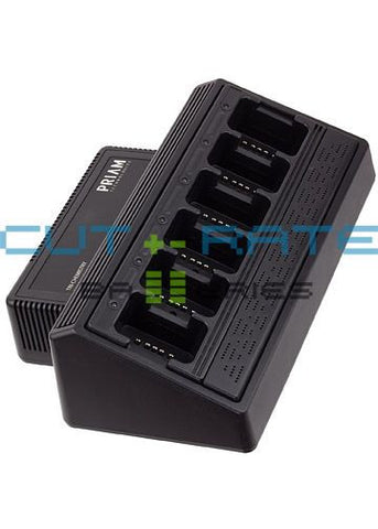 UC6000-A-KIT-M22T Universal Rapid Six-Bay Drop-in Charger (Built-In Power Supply)