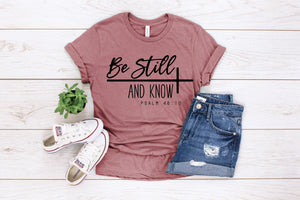 Be Still And Know: Crew