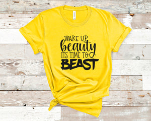 Wake Up Beauty Time To Beast: Crew