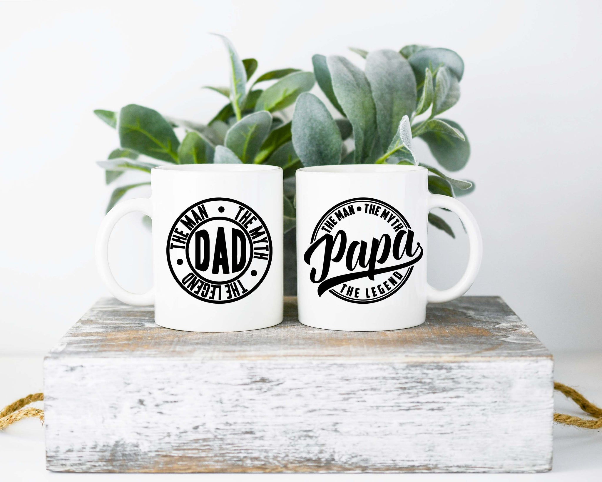 Dad And Papa Legends: Coffee Mug