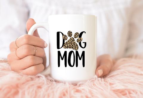 Dog Mom: Coffee Mug