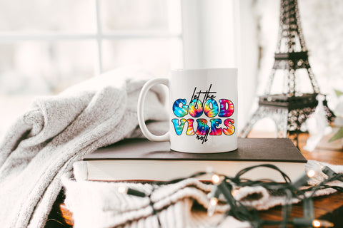 Let The Good Vibes Roll: Coffee Mug