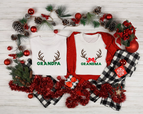 Deer Family Christmas Sets: Crew