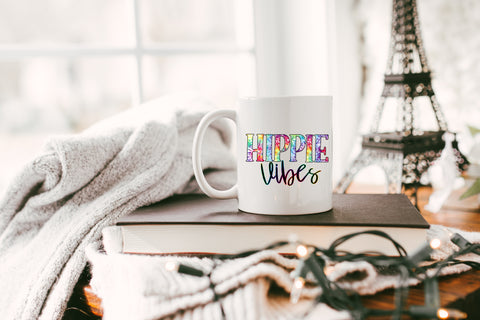Hippie Vibes: Coffee Mug