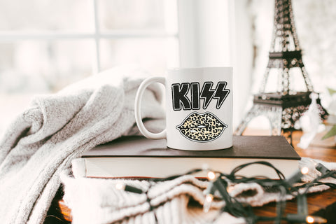 Kiss: Coffee Mug