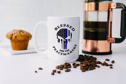 Blessed Are The Peacemakers: Coffee Mug