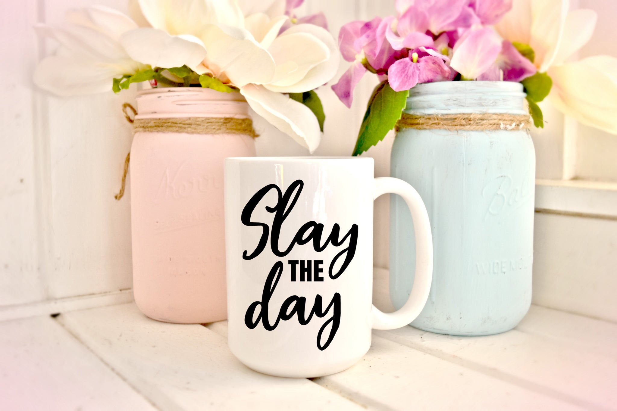 Slay The Day: Coffee Mug