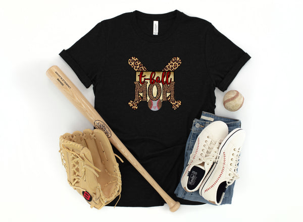 T-Ball Mom (Multiple Name Options)